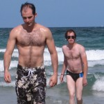 speedos on vacation, funny brother photos