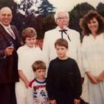colonel sanders family picture
