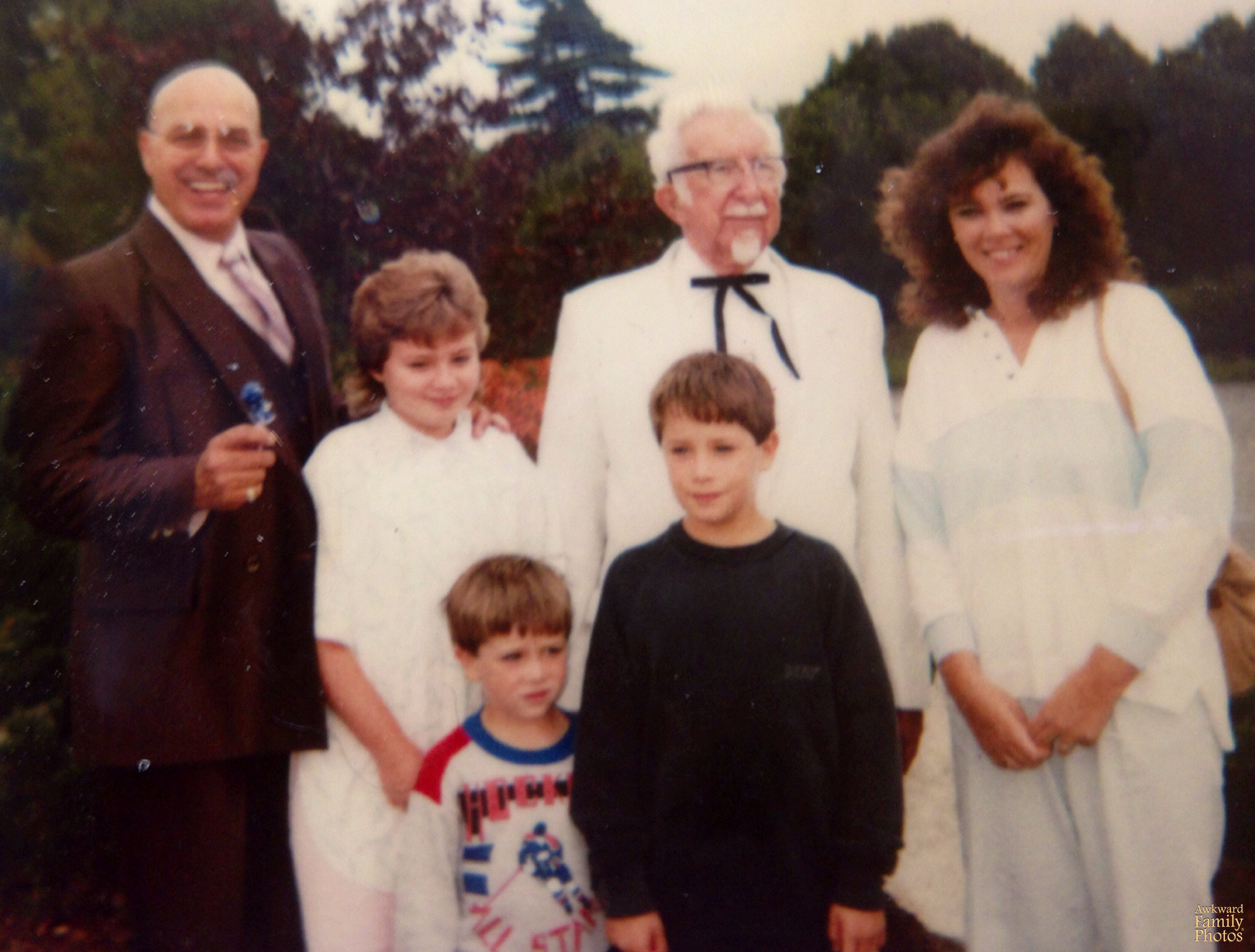 colonel sanders family picture