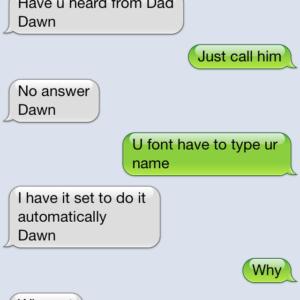 Signed, Dawn