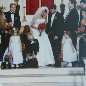 The Wedding Wardrobe Malfunction