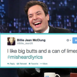 15 More Amazing #MisheardLyrics from Jimmy Fallon's Hashtag Game