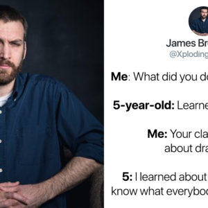 This 5-Year-Old's Hilarious Answers To Her Dad's Questions Have People Howling