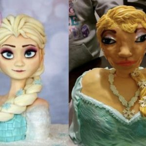 Cake Expectations: Frozen Edition