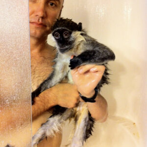 There's A Monkey In The Shower